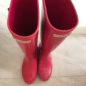 Hunter Shoes - Extremely lightly used Hunter boots